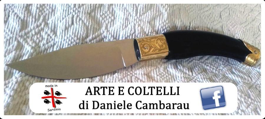 ARTE E COLTELLI DI DANIELE CAMBARAU