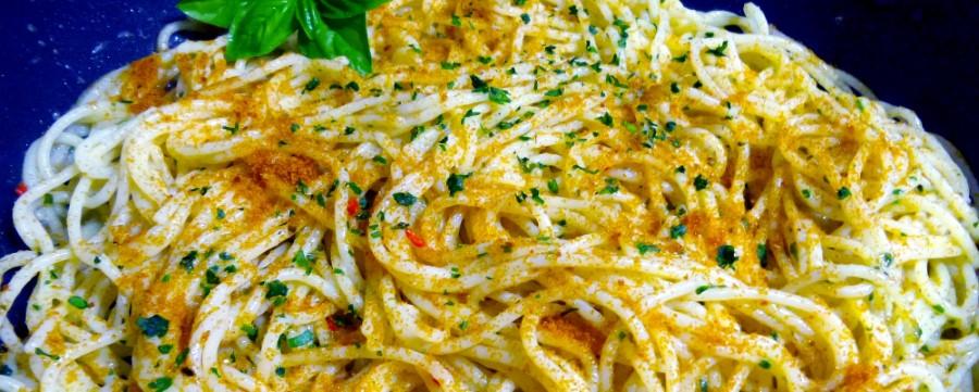 ricetta spaghetti alla bottarga